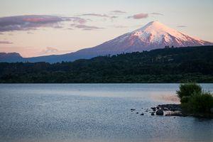 Villarica Volcano in Villarica, Chile