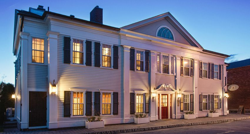 Inn at Stonington Fireplace Rooms in Connecticut