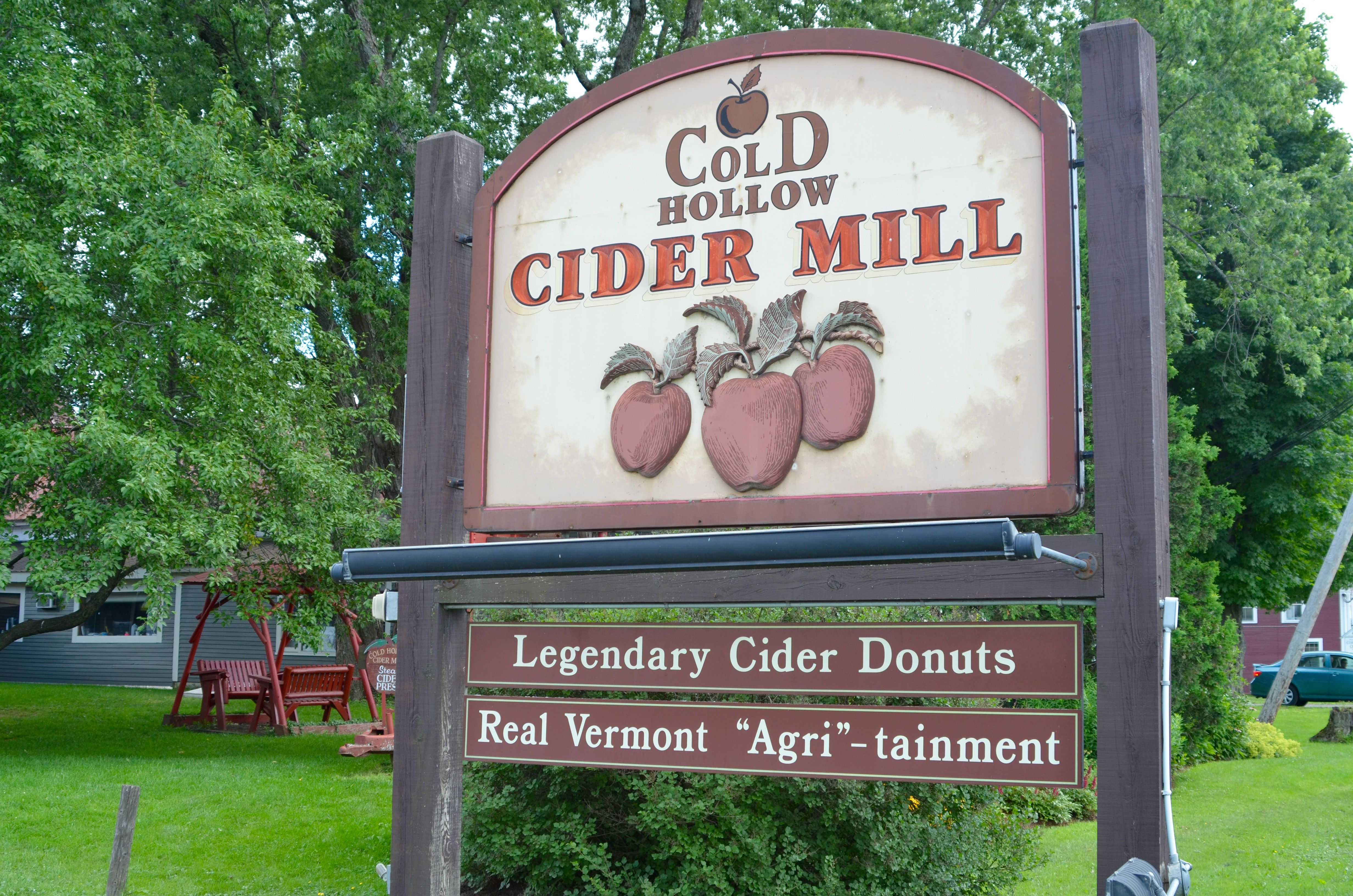 Cold Hollow Cider Mill in Waterbury, VT