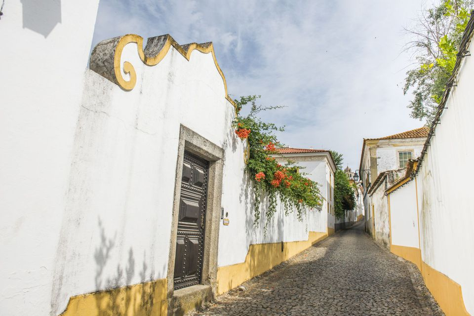 Laneways of Evora