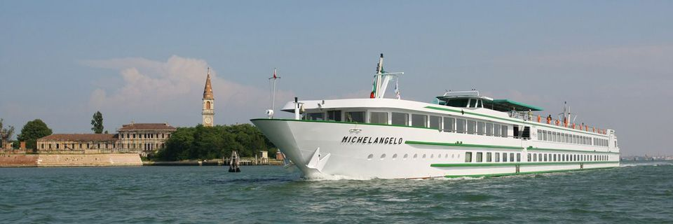 The MS Michelangelo sails the Po River and Venetian lagoon for CroisiEurope