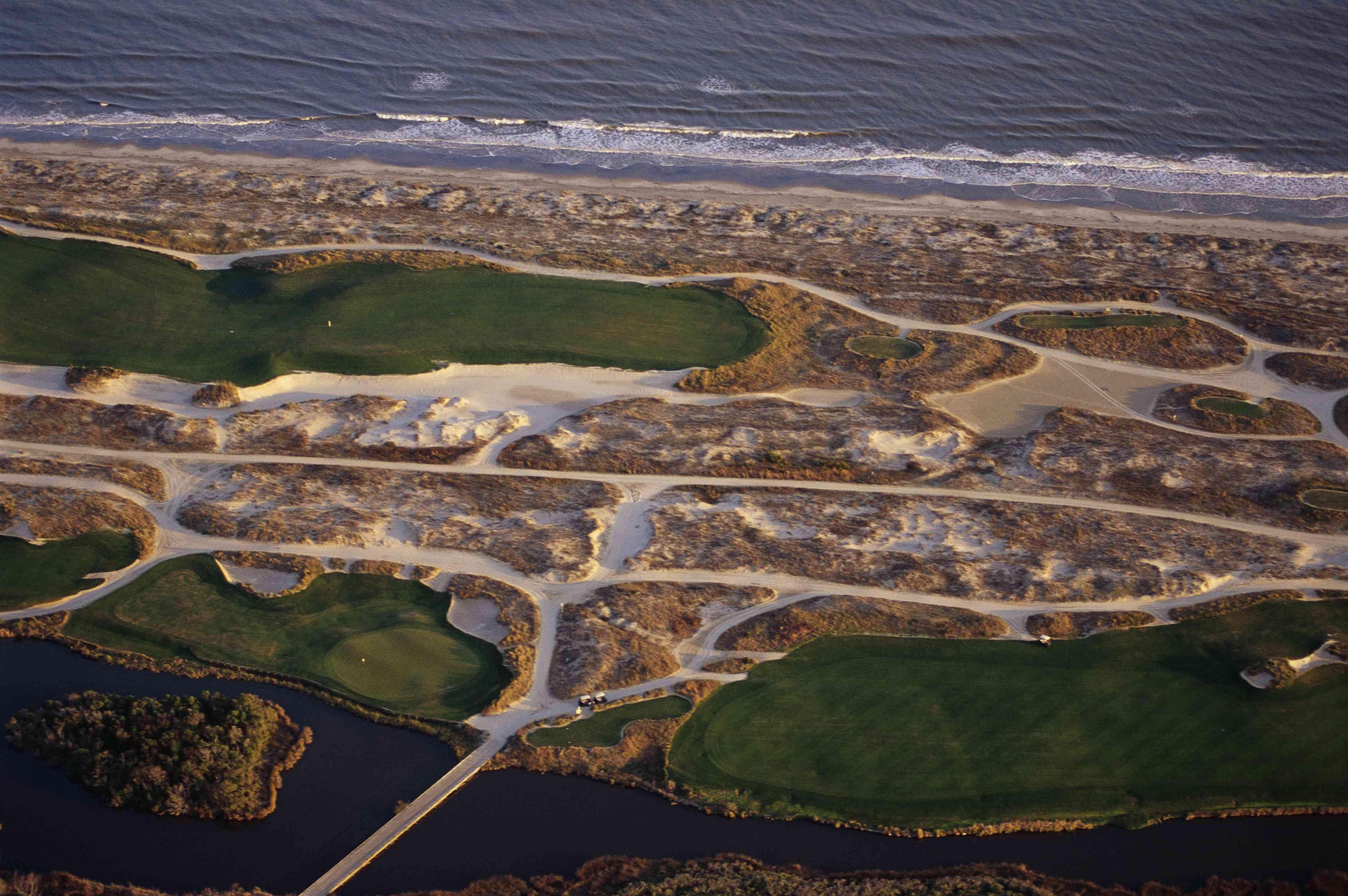 Golf Course Fairways near Beach