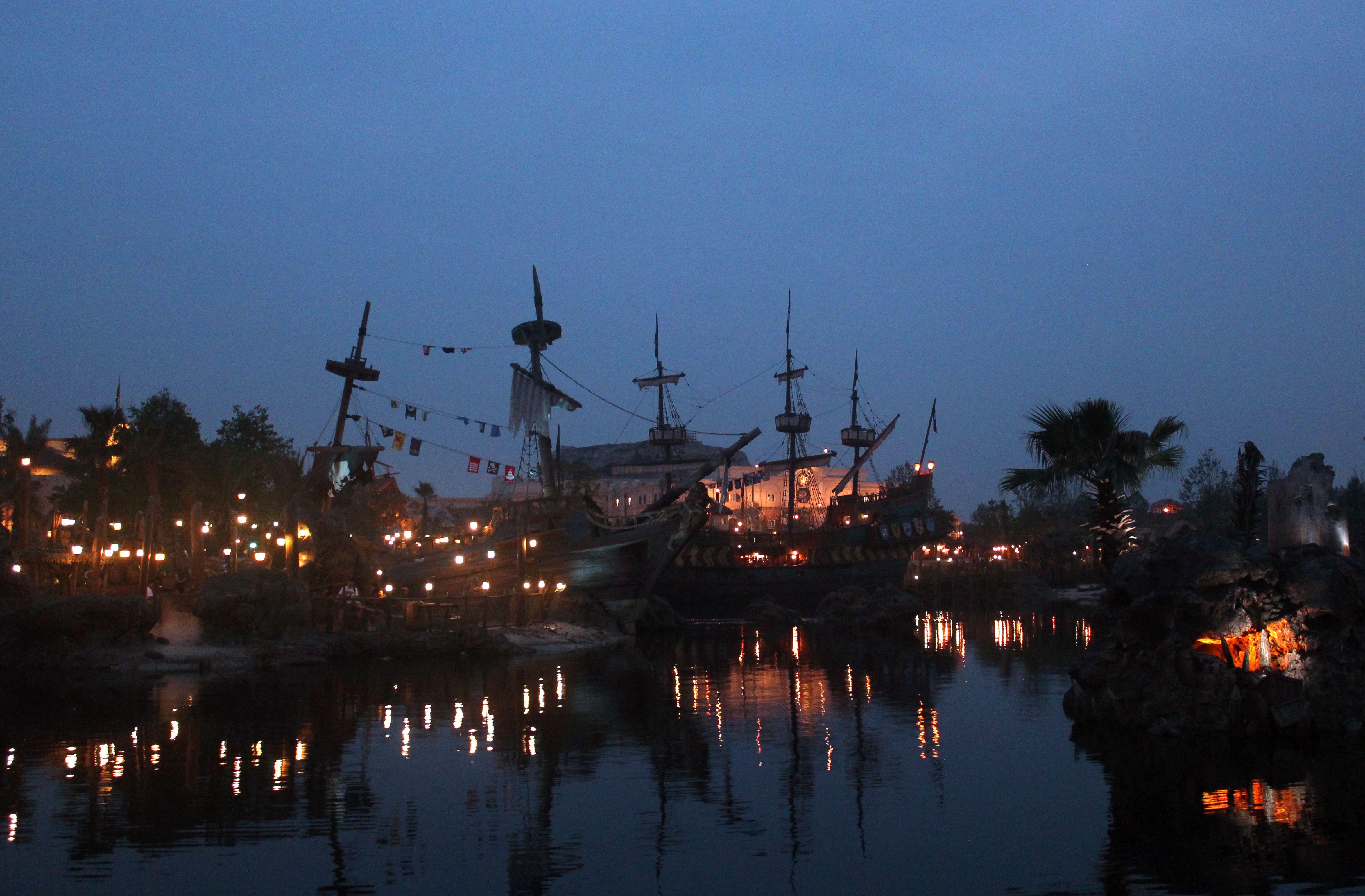 Shanghai Disneyland Treasure Cove
