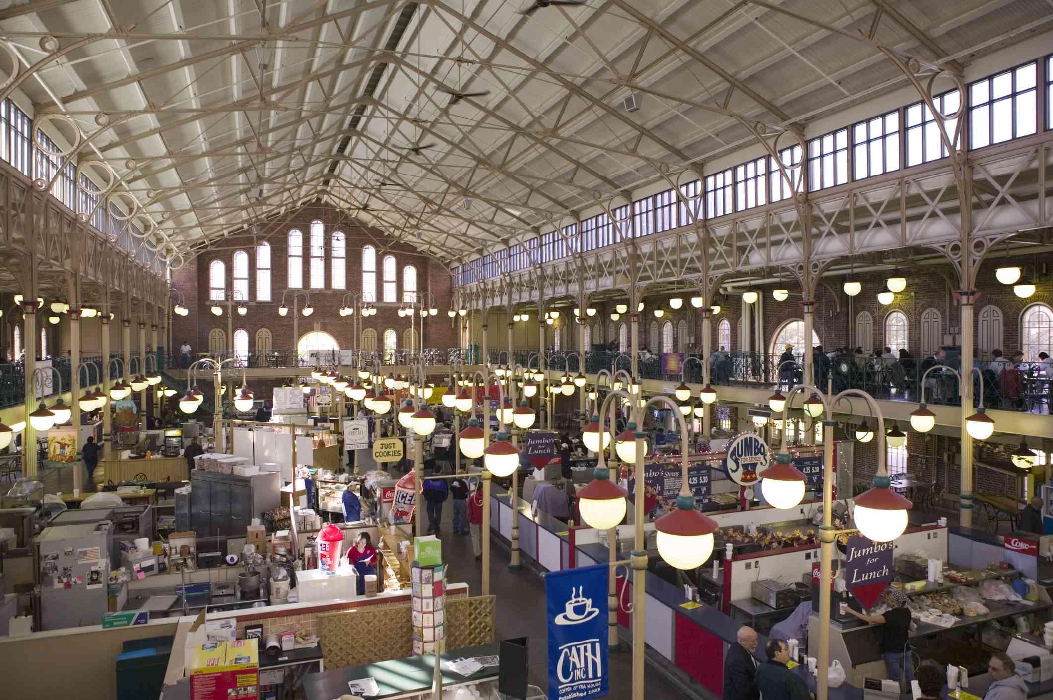 Indianapolis City Market, Indianapolis, Indiana, USA