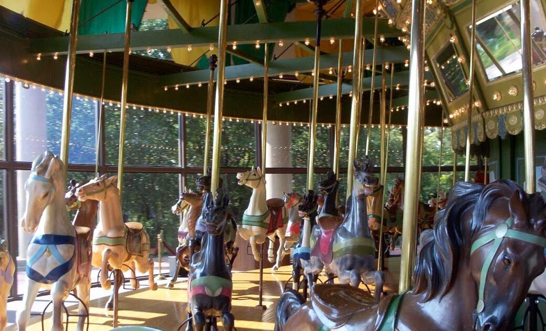 Faust park carousel