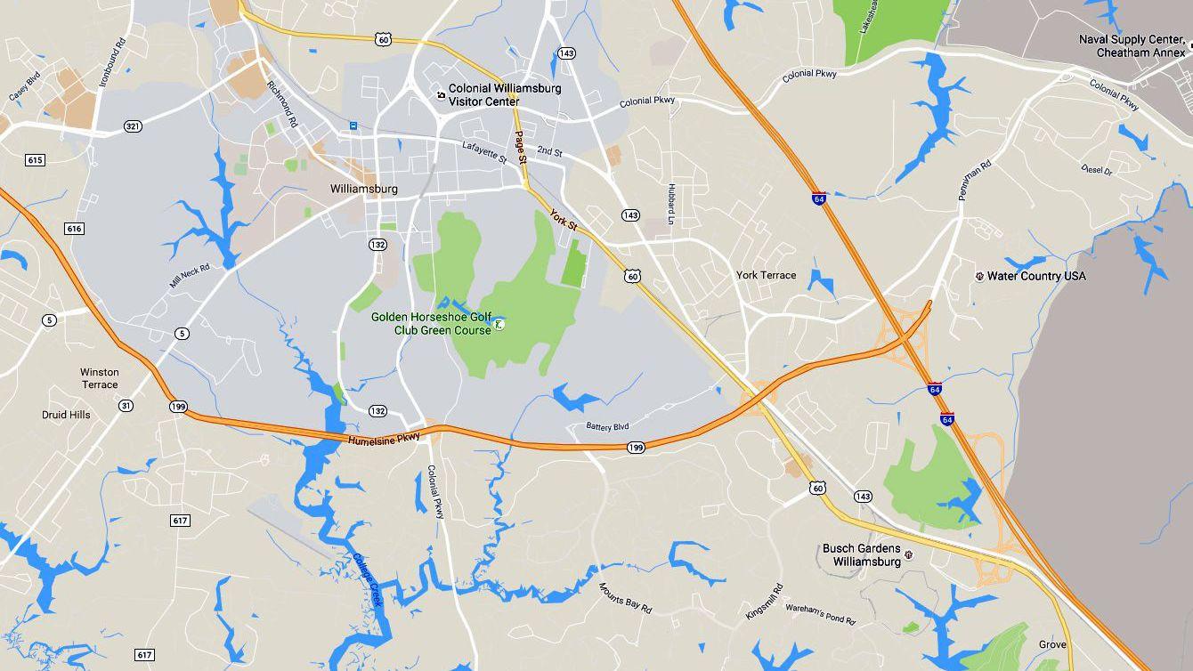 Map of Virginia c1884 20x16