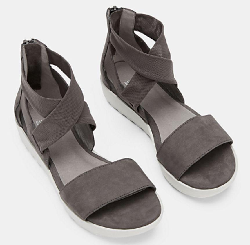 Eileen Fisher Kash Leather Sneaker Sandal
