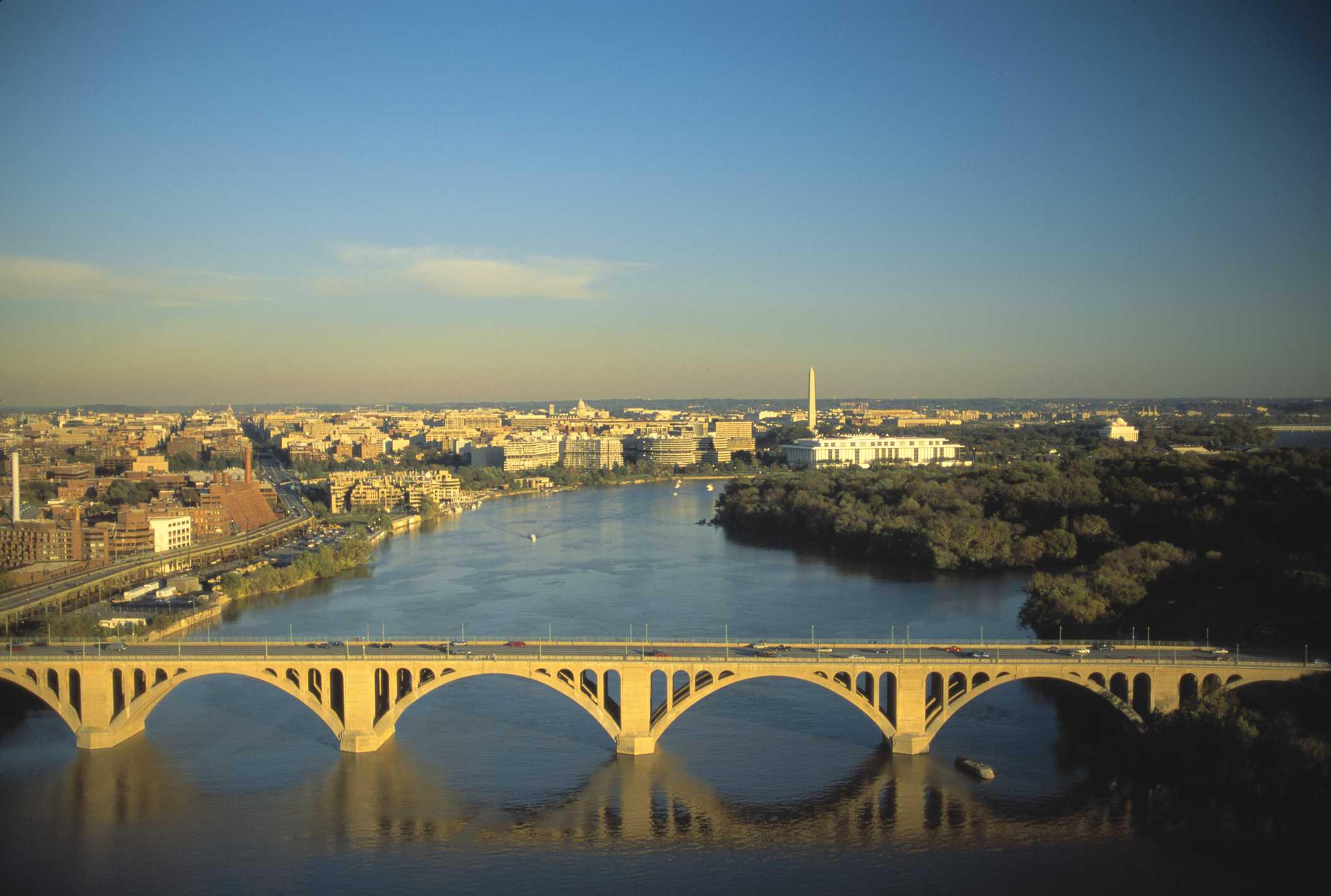 Key Bridge Over the Potomac River