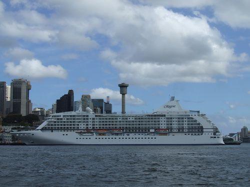 Regent Seven Seas Voyager in Sydney, Australia