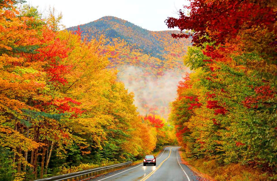 Kancamagus Highway Best New England Scenic Drive
