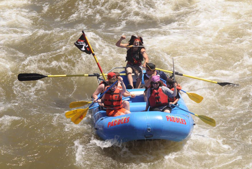 Colorado Summer Family Vacation Whitewater Rafting