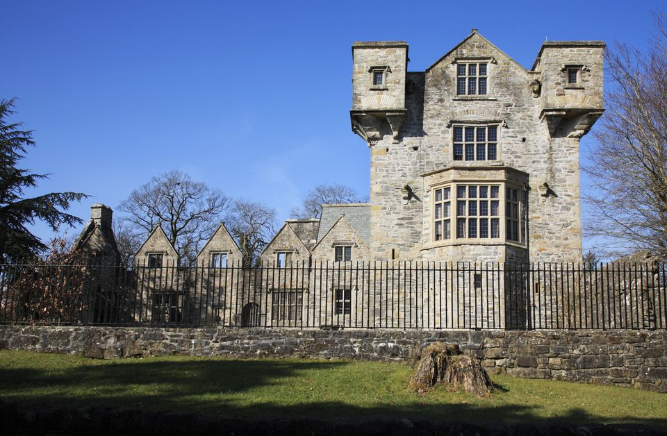 Donegal Castle in County Donegal in Ireland