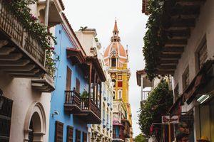 The historic center of Cartagena