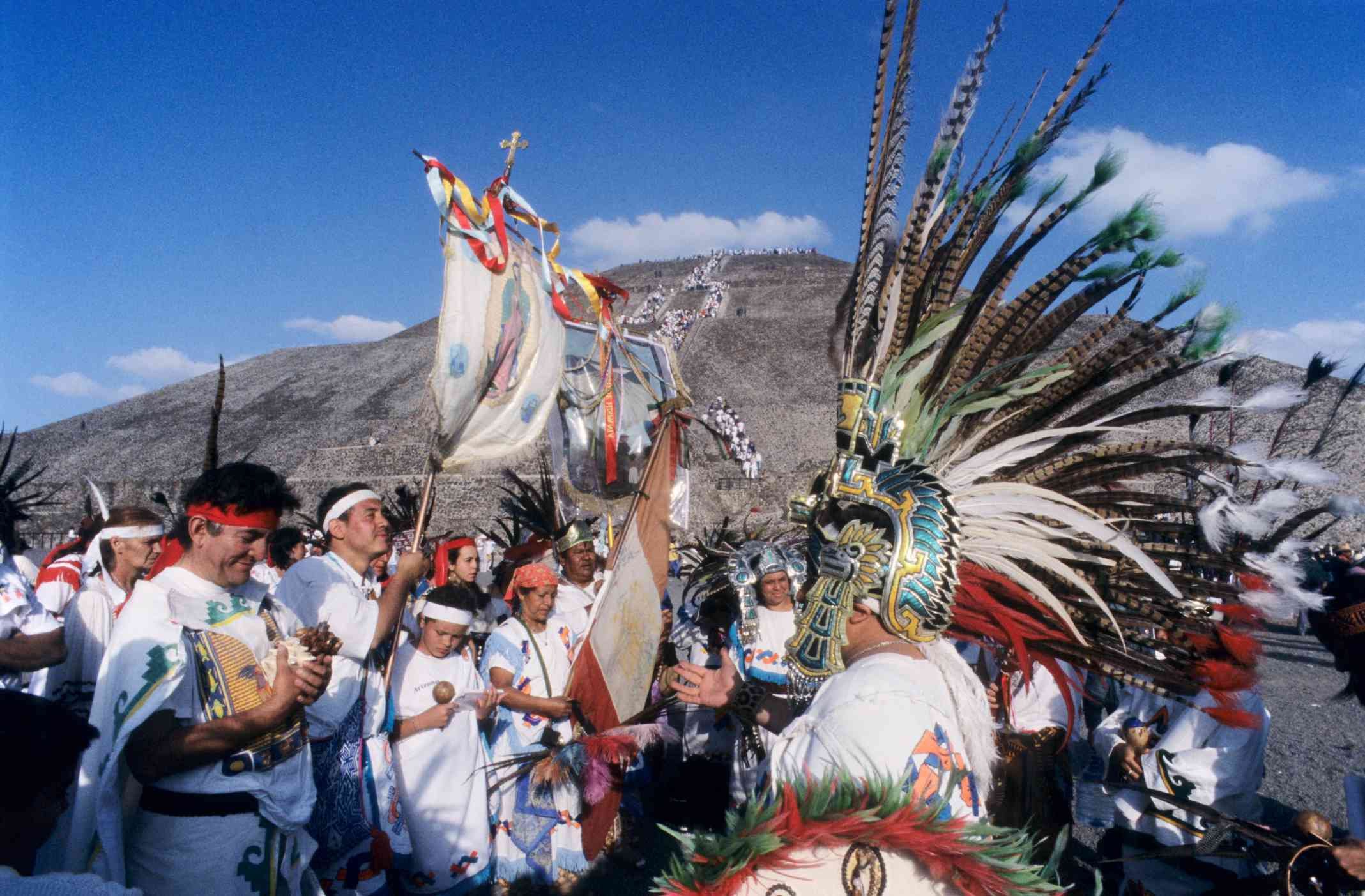 Celebration of the Spring Equinox at Teotihuacan