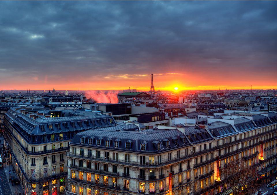 The Rooftops Of Paris At Sunset Little Could Be More Iconic