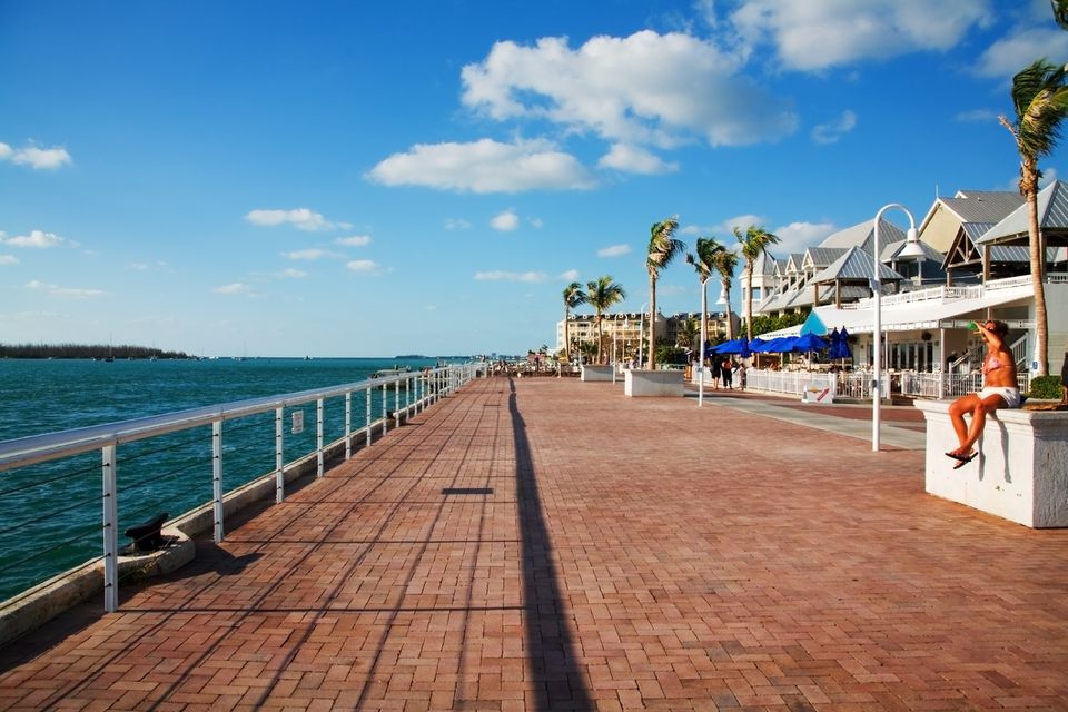 A sunny day in Key West Florida
