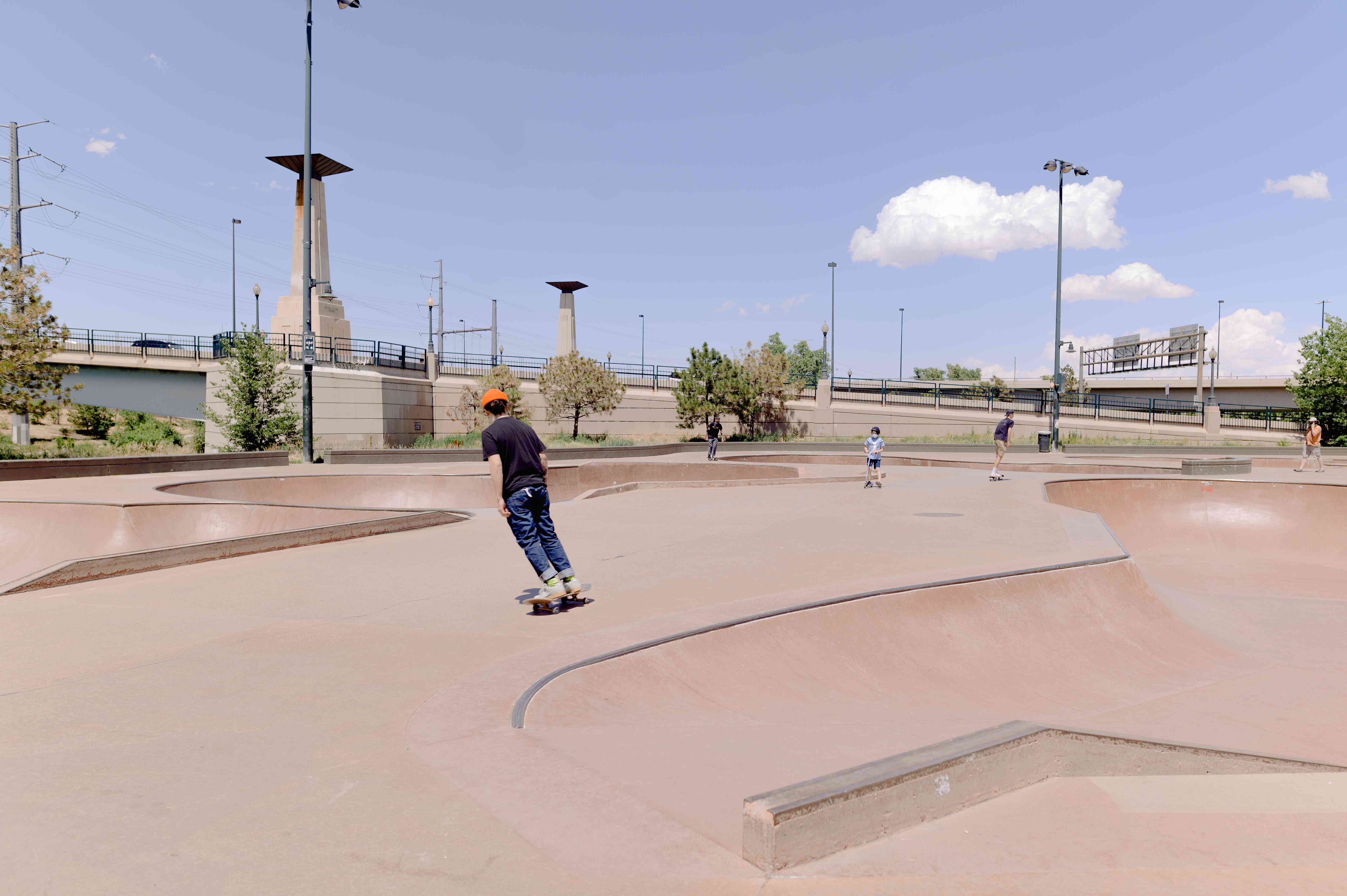 Denver Skatepark in LoDo