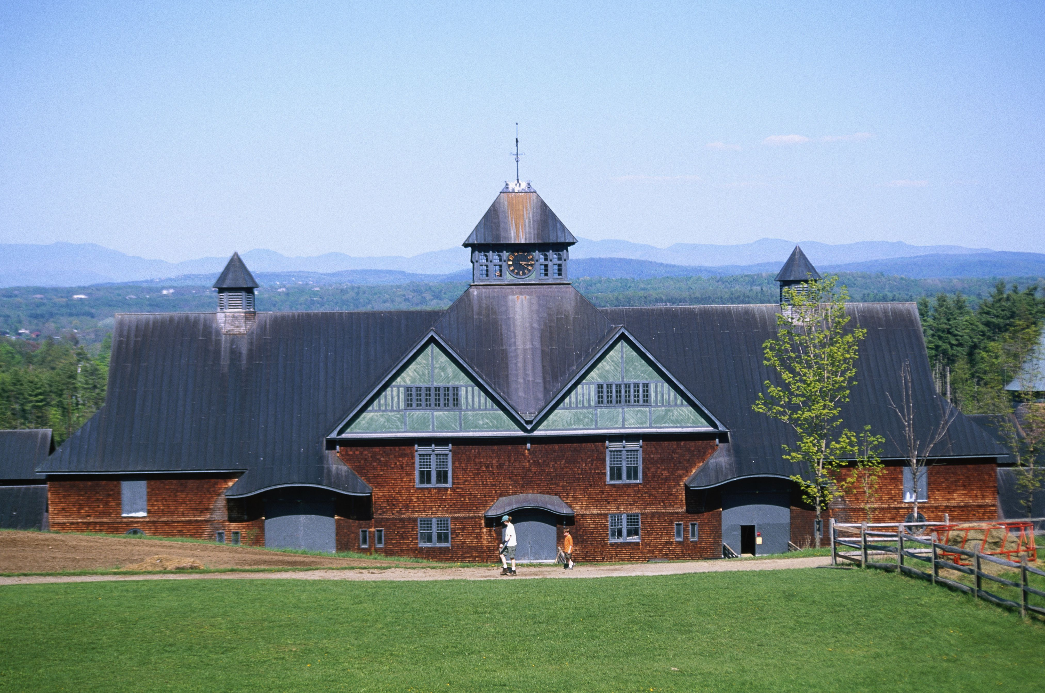 Designed by Olmstead, Shelburne Farms