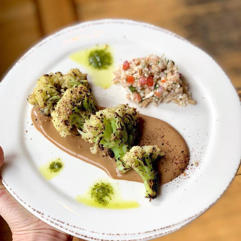 cauliflower at Vedge Restaurant