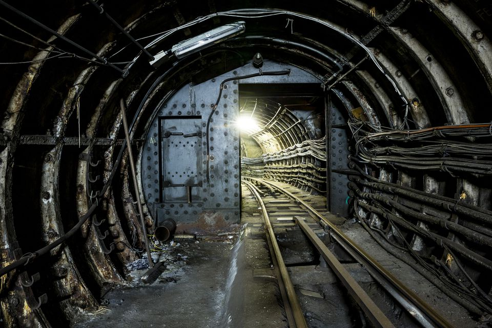 Mail Rail Tunnel London