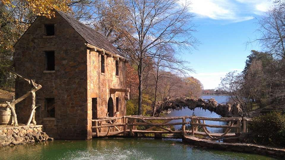 El antiguo molino de North Little Rock