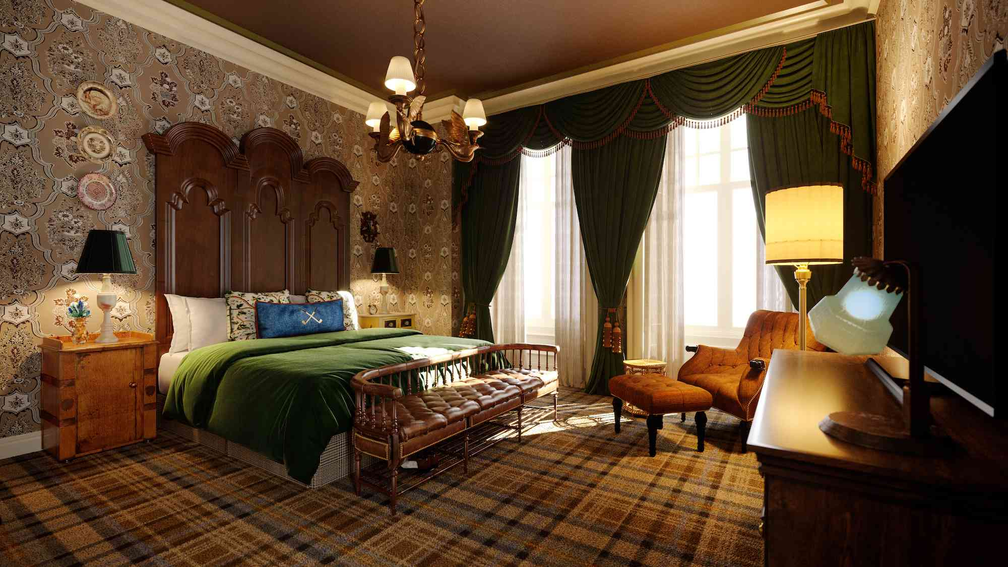Rusacks St Andrews guest room