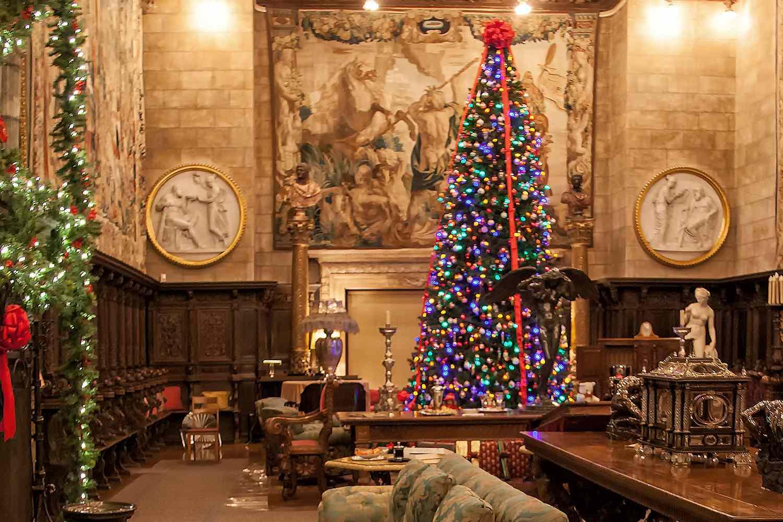 Hearst Castle Christmas Tree