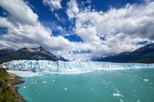 Famous Perito Moreno Glacier in Patagonia, Argentina