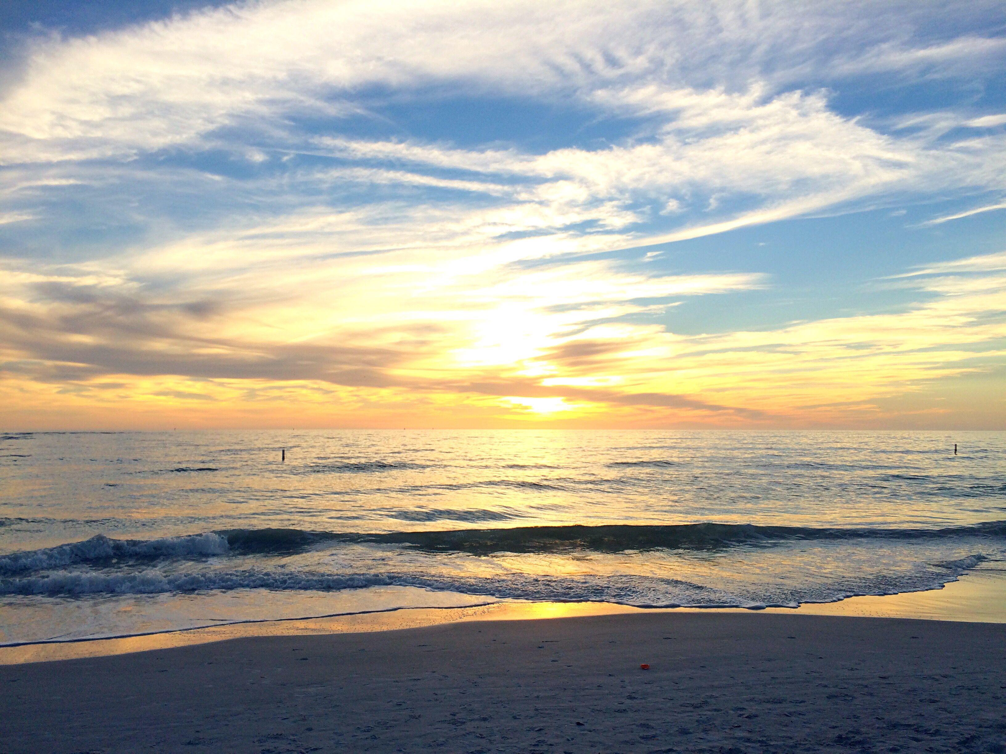 Sunset over Madeira Beach, Florida