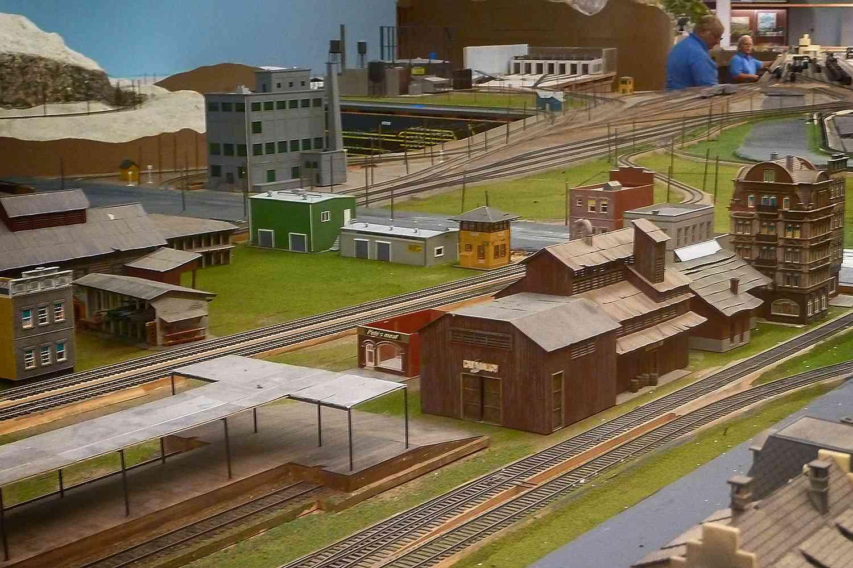 Exhibit at the Model Train Museum in Balboa Park