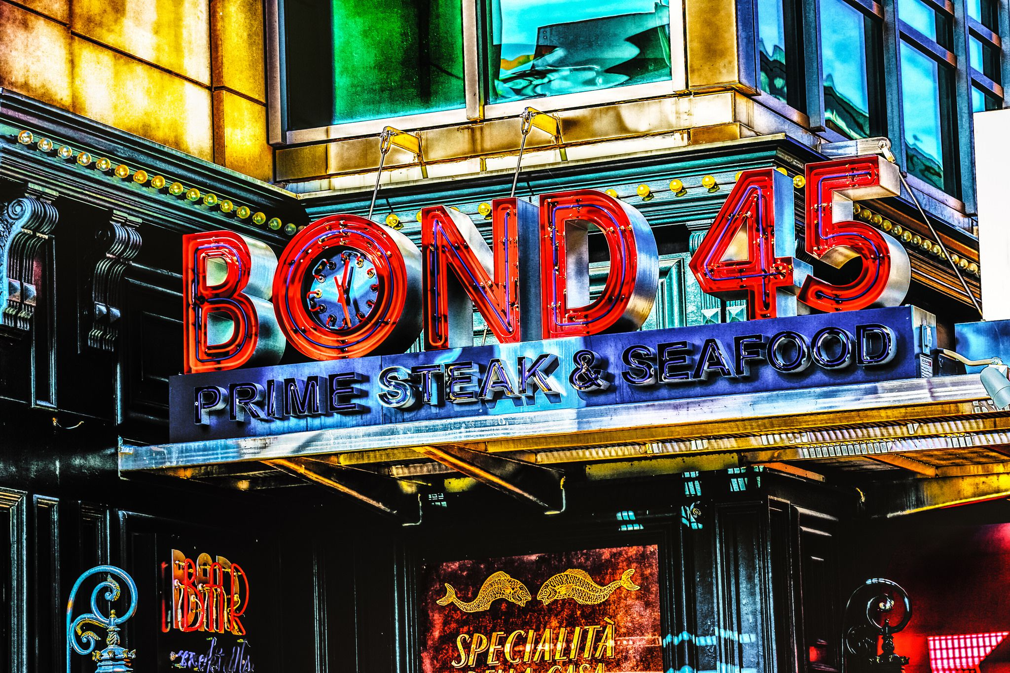 Bond 45 Restaurant In National Harbor