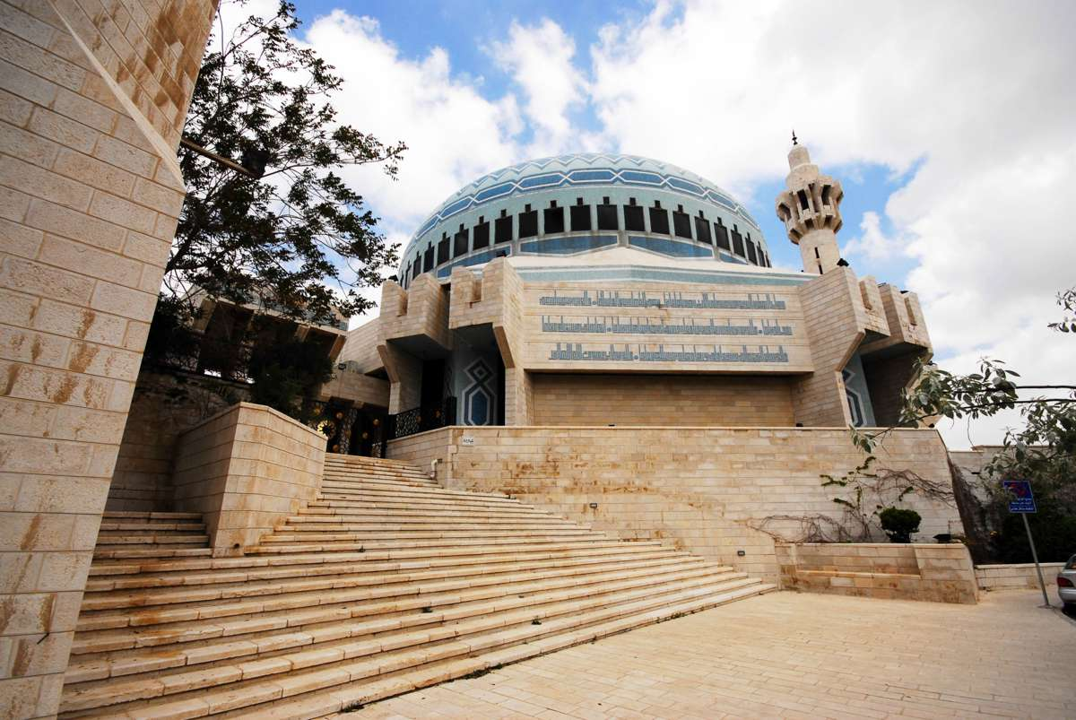 A large mosque in Amman, Jordan