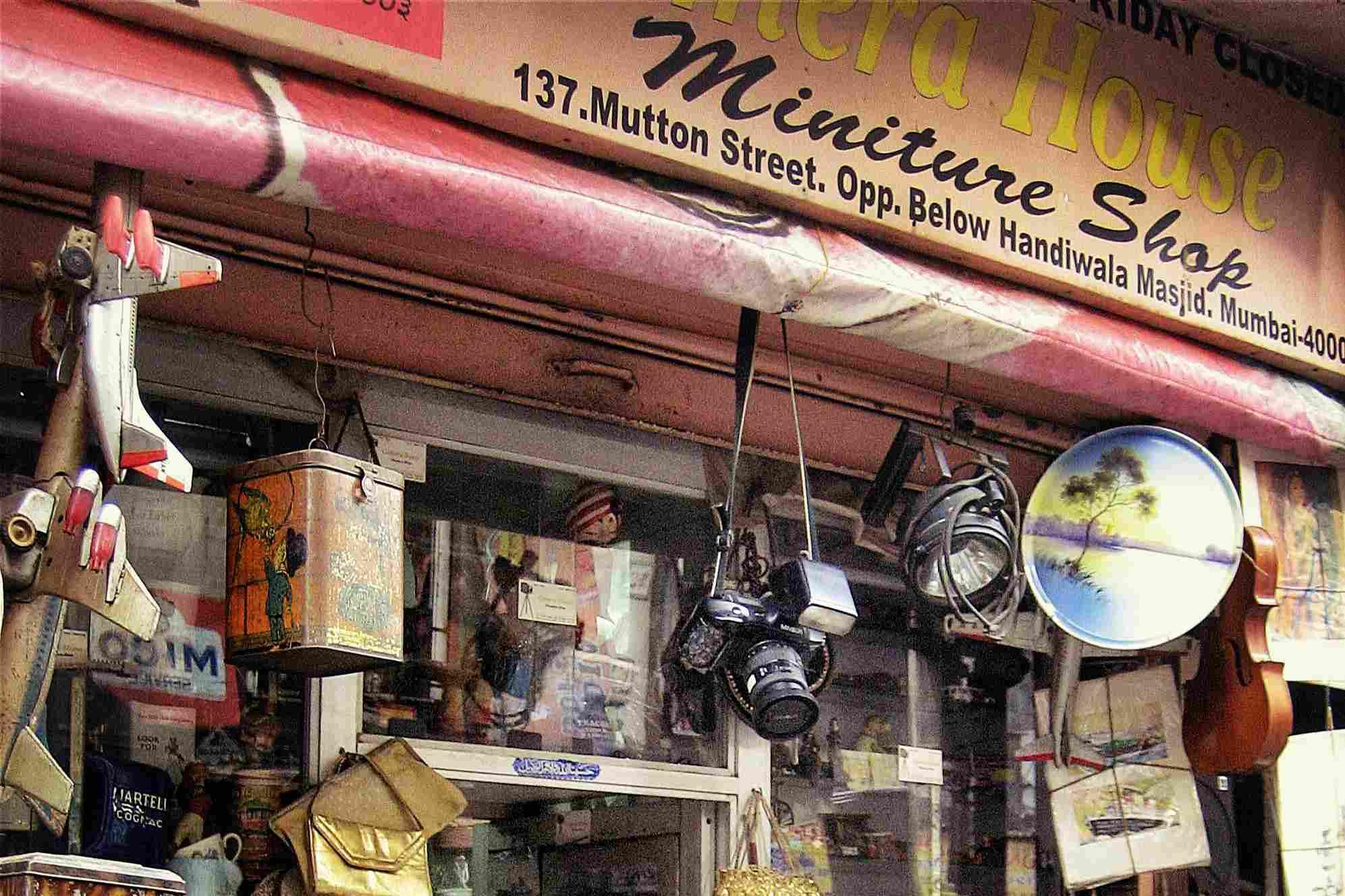 Camera House and Miniature Shop, 137 Mutton Street, Mumbai.