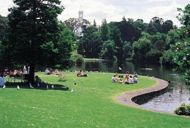 Royal Botanic Gardens Melbourne - Oasis of Green