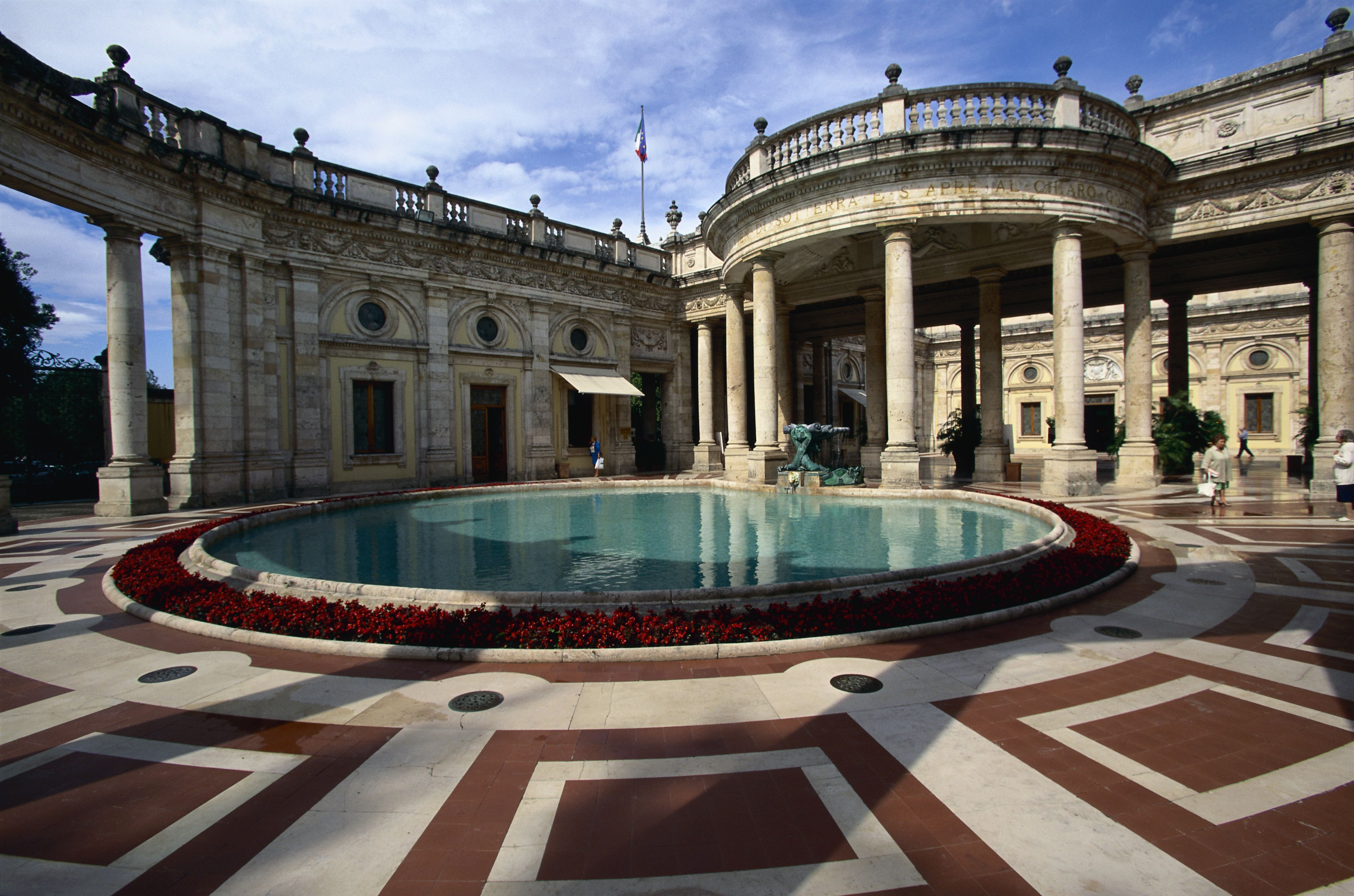 Baths in Montecatini
