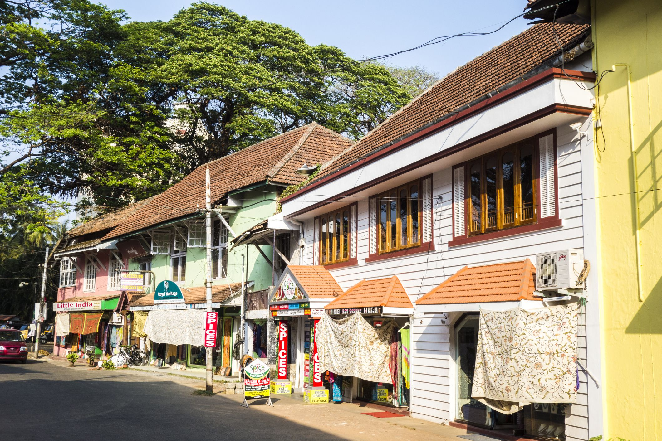 Fort Kochi street.