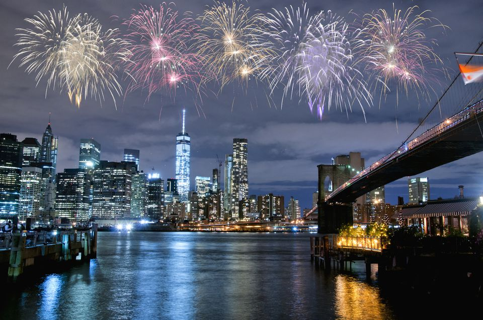 Nyc Fireworks New Years Eve