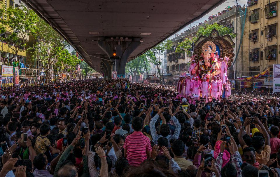 Ganesh festival in Mumbai.