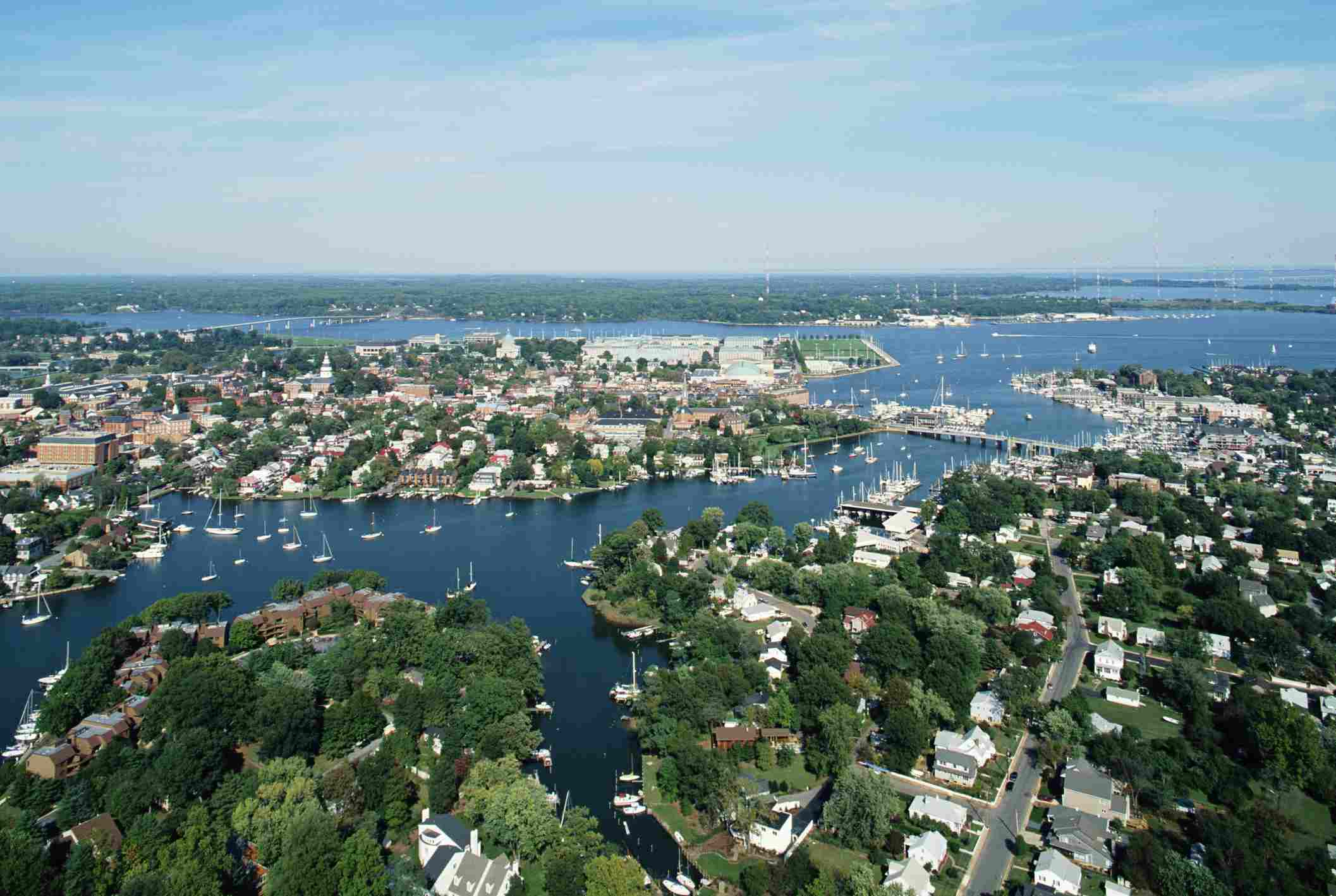 Annapolis, MD Aerial View