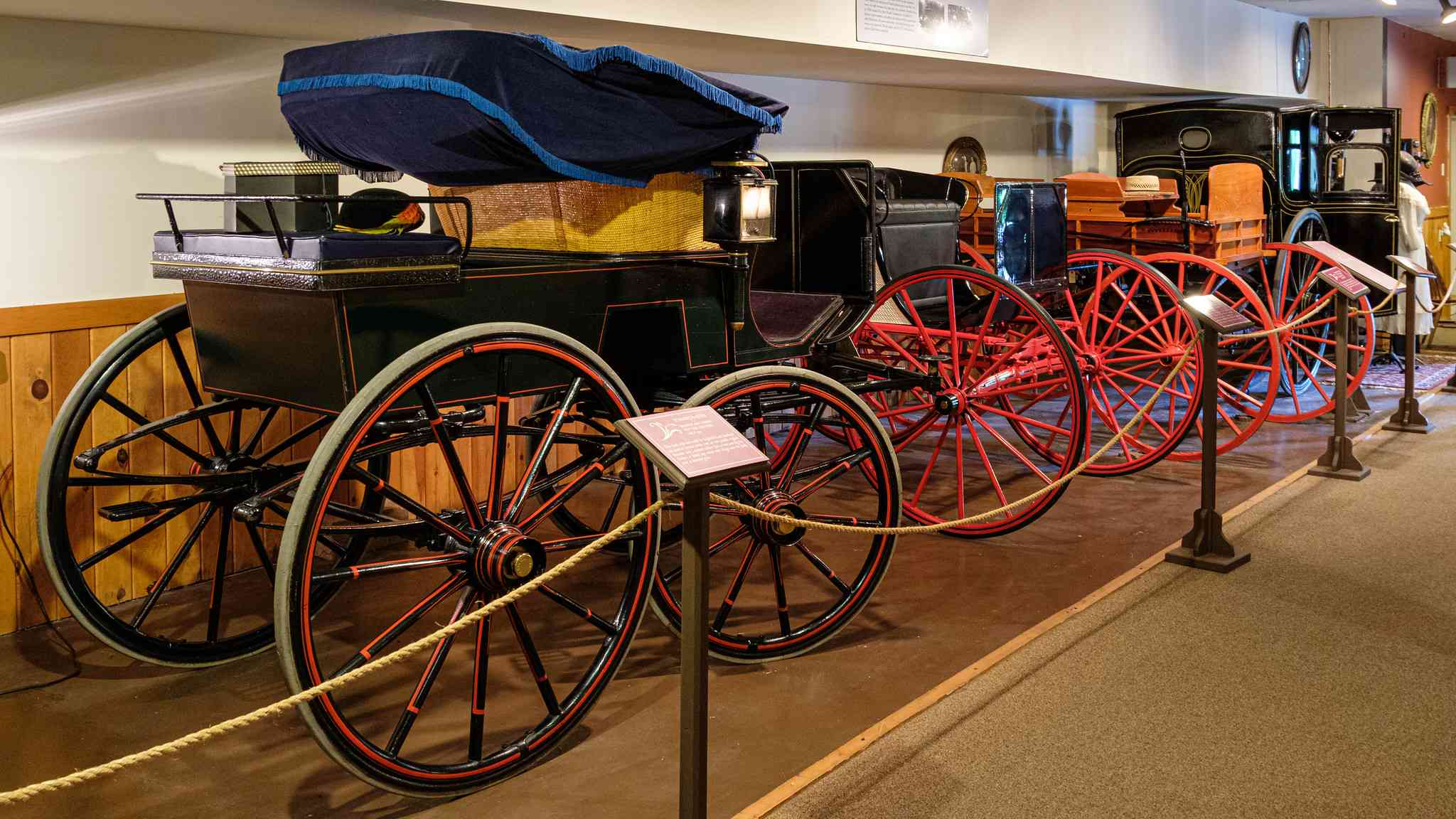 Cumberland to Frostburg Railroad Thrashers Carriage Museum