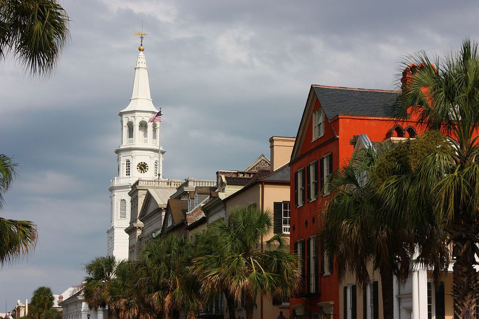 Downtown Charleston, South Carolina.