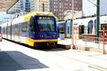 A Blue Line Metro Train, Minneapolis, Minnesota