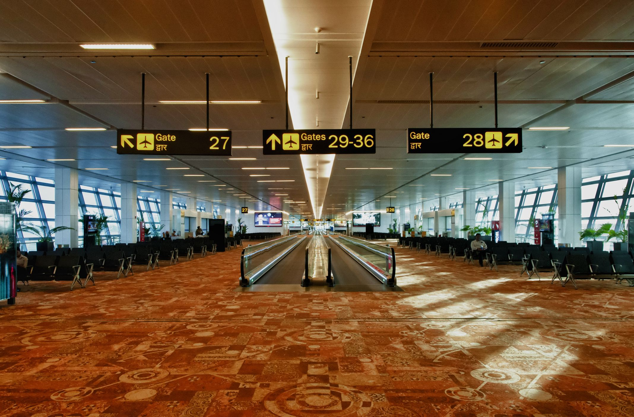 7 major airports in india and what to expect at each. Black Bedroom Furniture Sets. Home Design Ideas