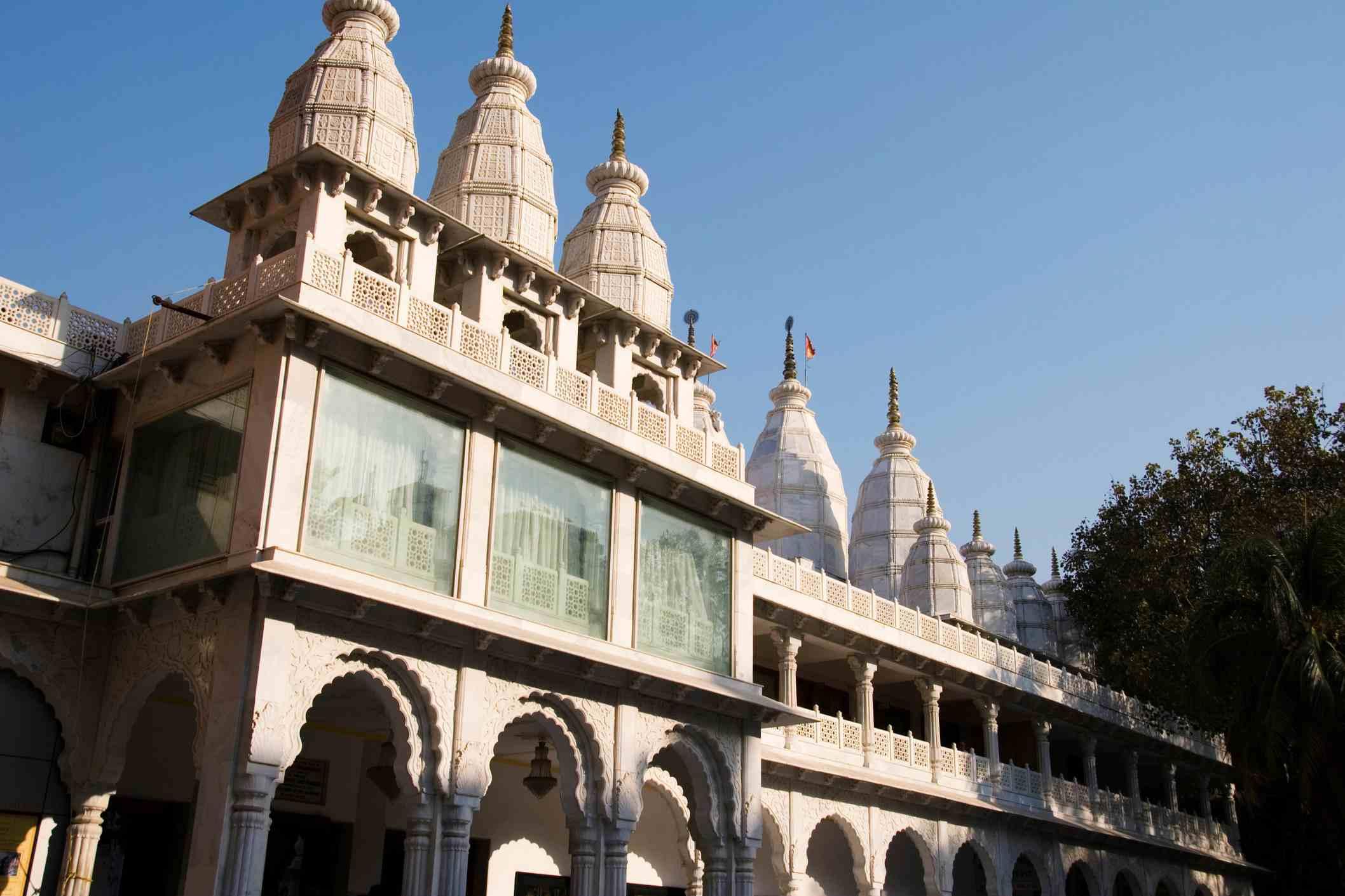 Hare Krishna Iskcon temple, Juhu.