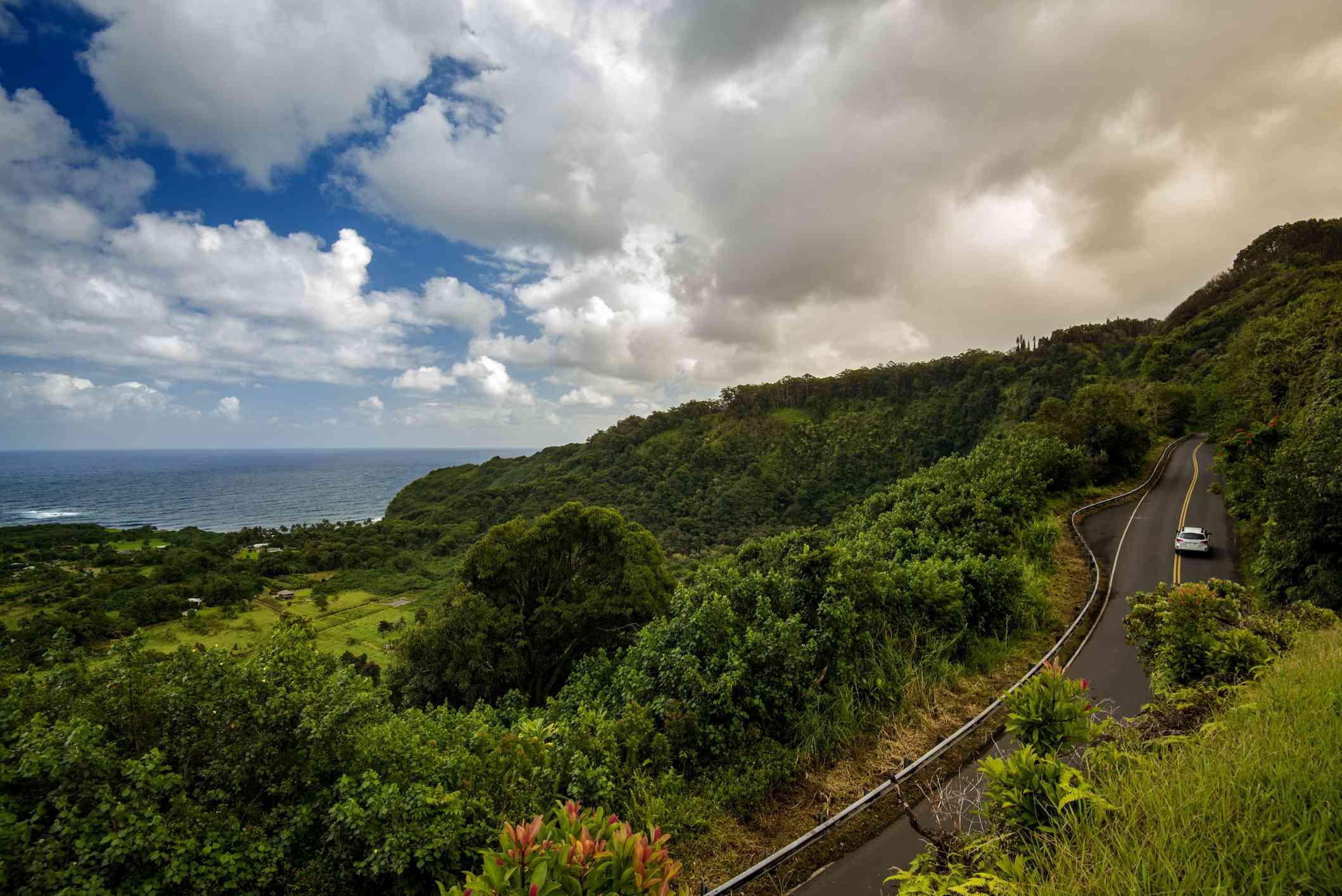 The Road to Hana on Maui