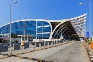Goa airport.