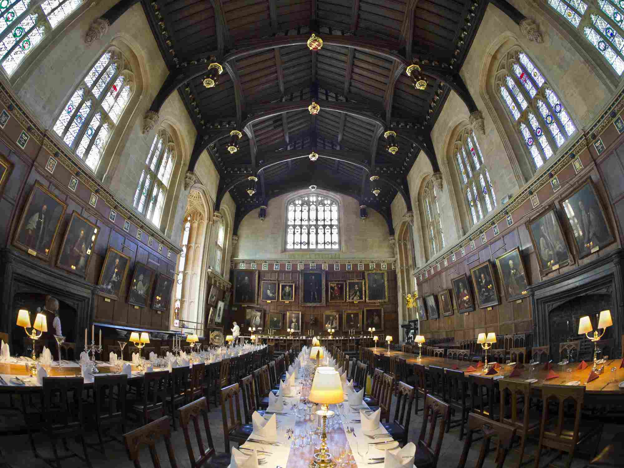 The Great Hall of Christ Church College