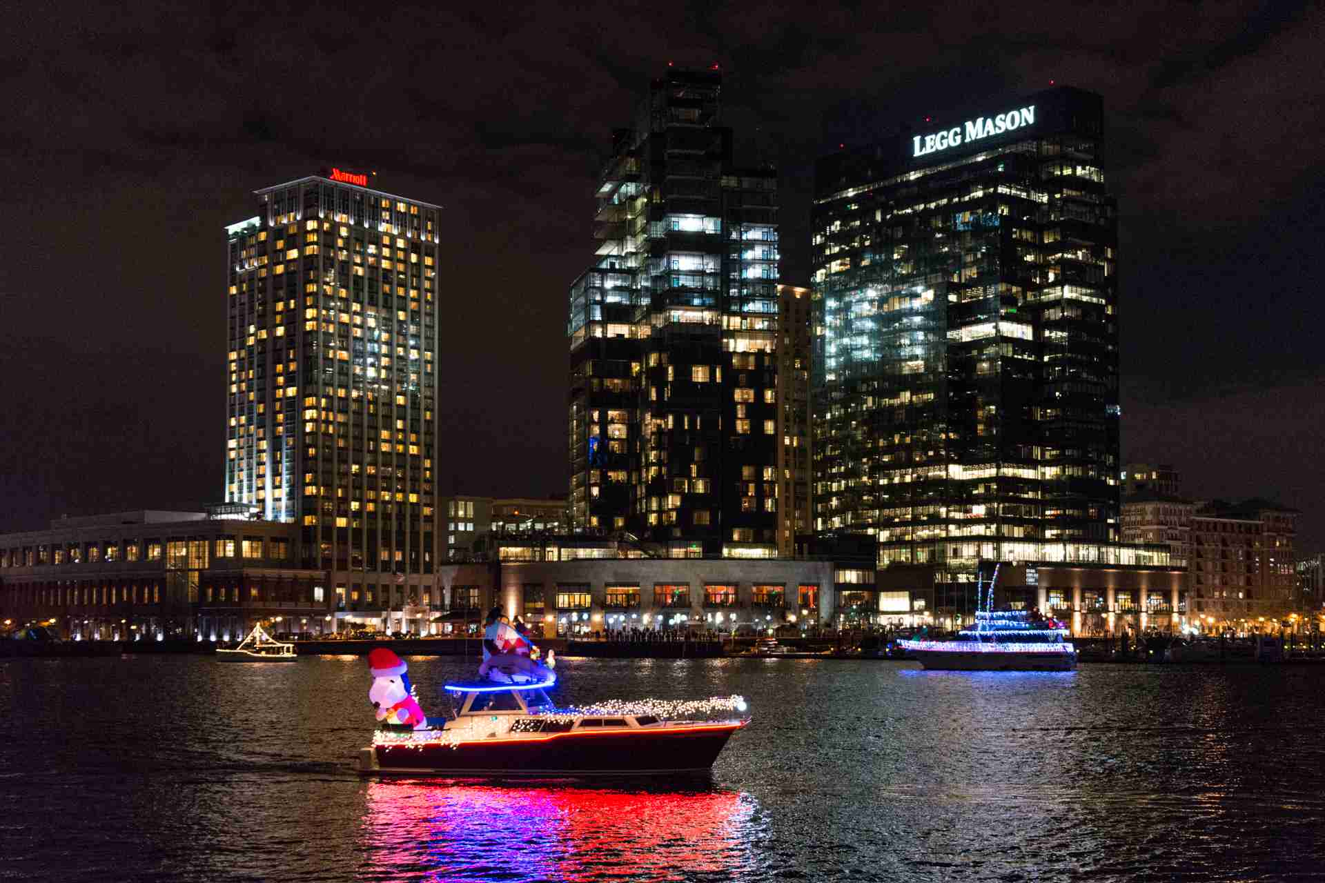 Baltimore Parade of Lighted Boats