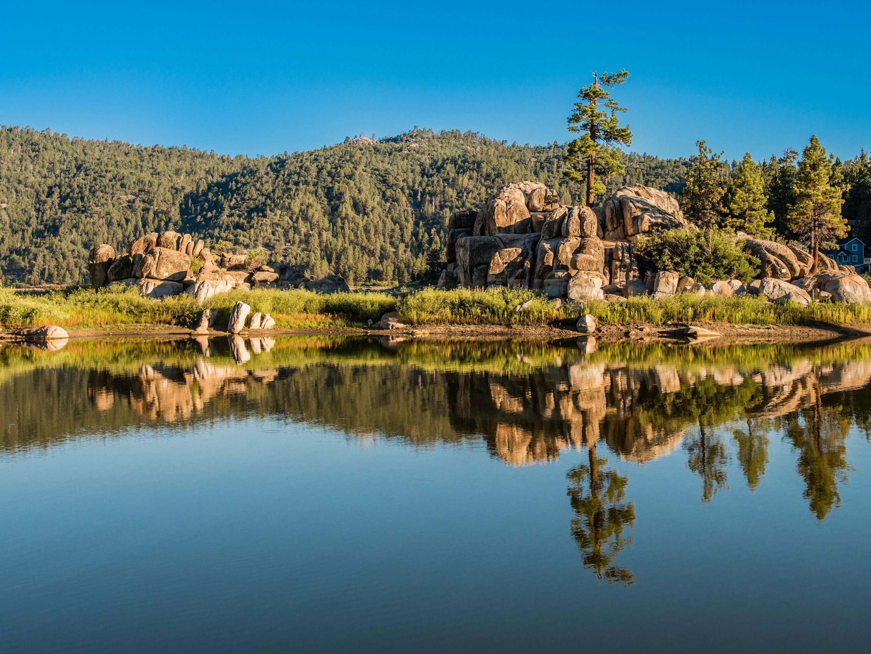 Camping at Big Bear, California