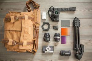 Camera bag and camera equipment